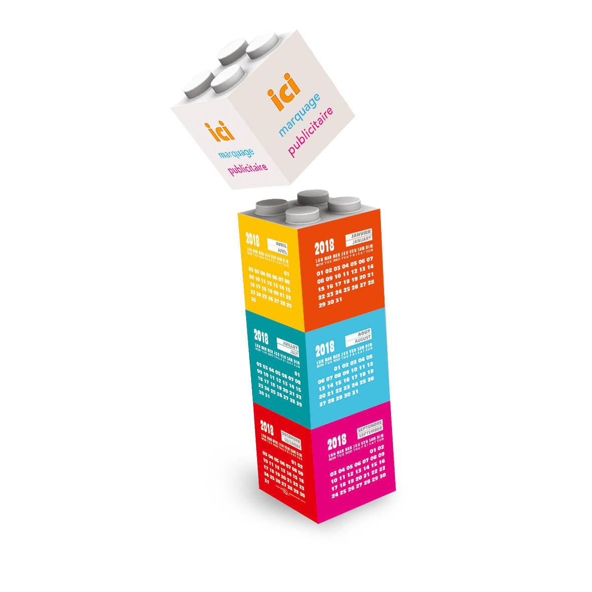 Calendrier Personnaliser.Calendrier Personnalise Blocks Construction Calendriers