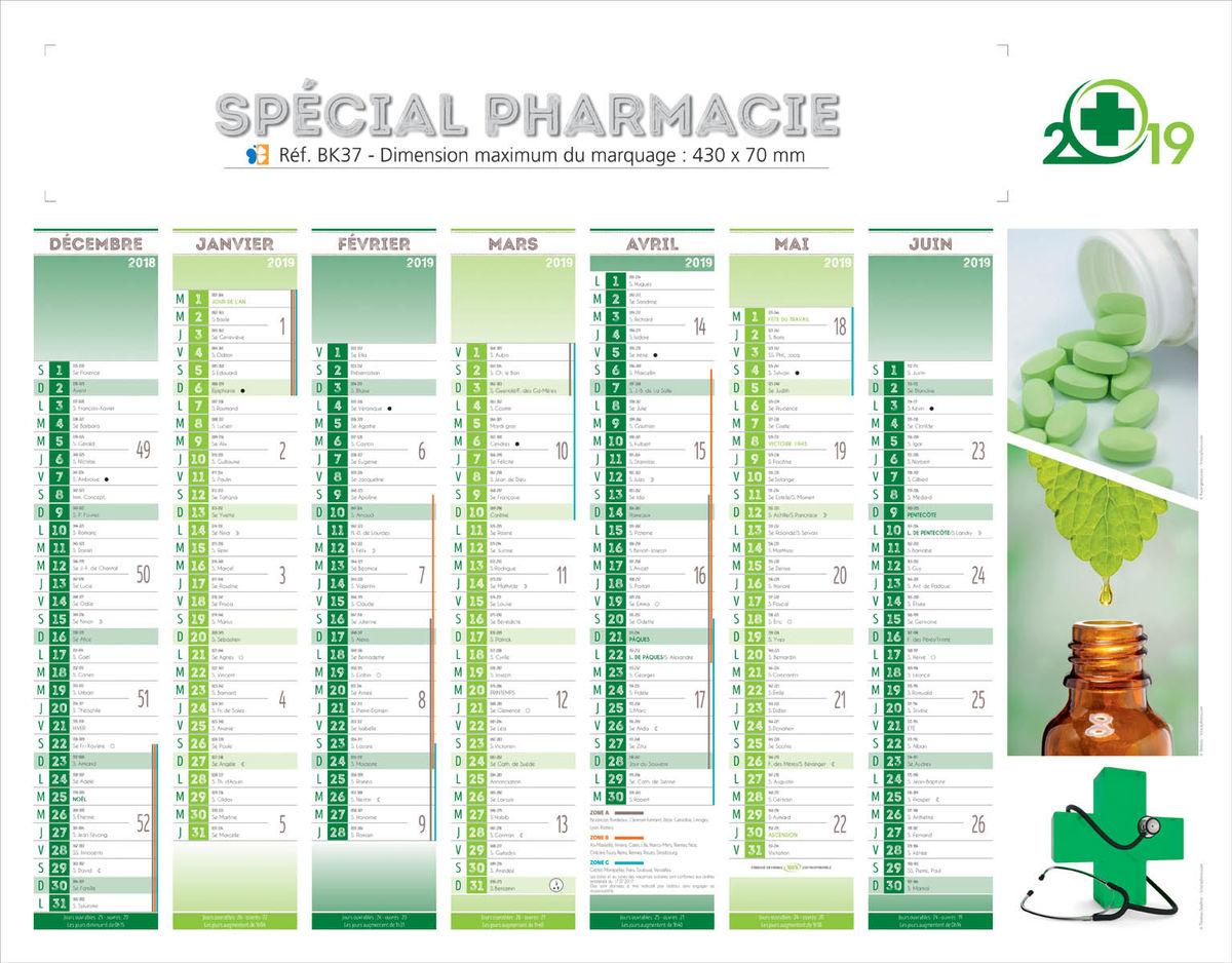 Calendrier Bancaire Personnalise.Calendrier Personnalise Pharmacie Calendriers 100 Perso