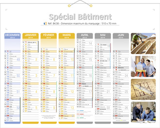 Calendrier Perso.Calendrier Personnalise Batiments Calendriers 100 Perso